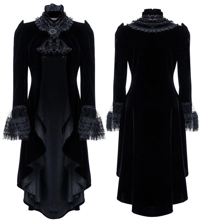 Velvet 2 Style Black Gothic Jacket by Dark in Love