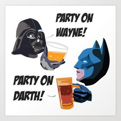 Party on! Art Print by Sabrina Potocnik - $38.48