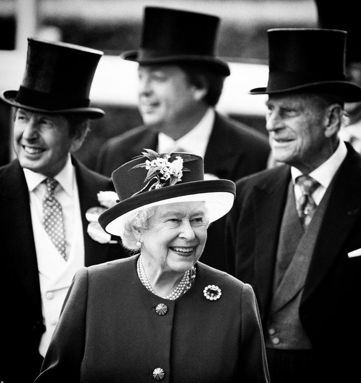 Confirmed: The British Royal Family Looks Even More Regal in Black and White  Queen Elizabeth II and Prince Philip, Duke of Edinburgh