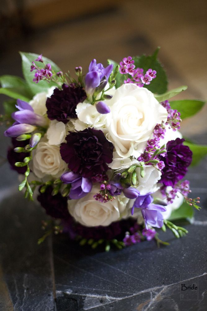 Love these gorgeous purple flowers from an amazing summer wedding in Toronto Ontario.