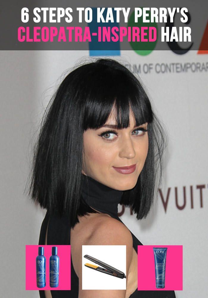 Katy Perry Cleopatra Hair Tutorial