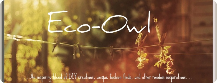 ~ ECO OWL~: DIY Lace Lamp shade = Less than $5 to Create!