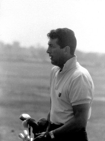 Dean Martin playing golf
