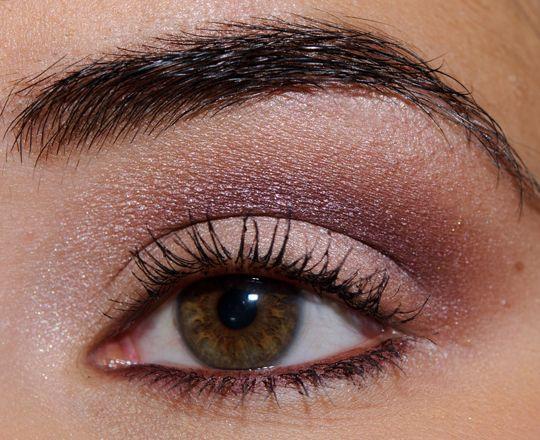 Chanel pink/purple look.