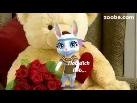 Happy Birthday ...Alles Gute zum Geburtstag...Glück, Liebe, Zoobe, Animation - YouTube
