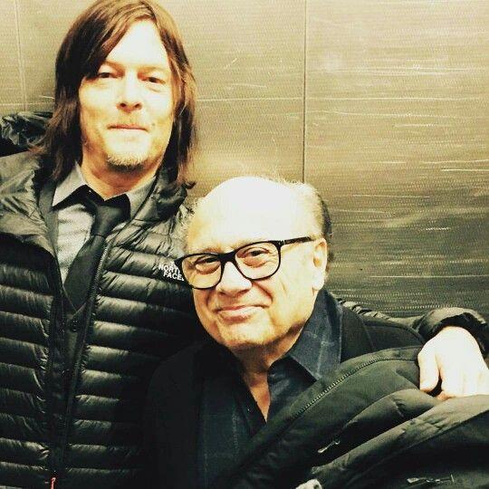 Reedus & Danny Devito