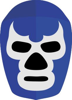 Mascara Blue Demon.svg