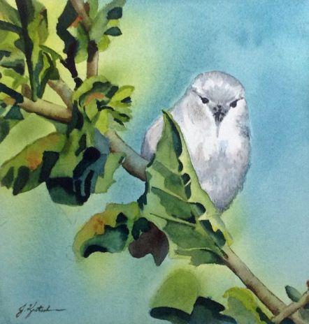 http://www.jkretschmer.com/pages/30in30.html An Angry Bird, Original Watercolor by Jennifer Kretschmer