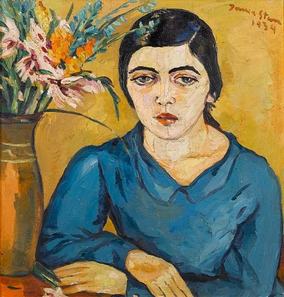 Portrait of an Indian woman By Irma Stern ,1934