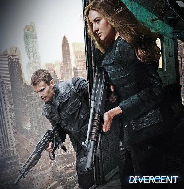 Four and tris // divergent - insurgent - allegiant //