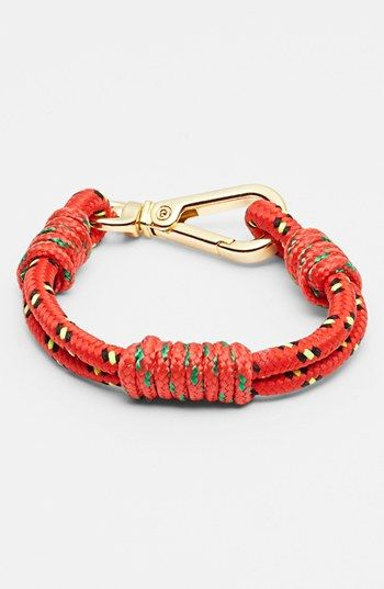 A must have for camping ....Cara Couture 'Bungee' Bracelet | Nordstrom.