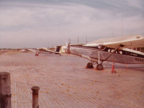 Air America Pilatus P-6 Porters at Can Tho Airfield -- I flew in these from time to time.