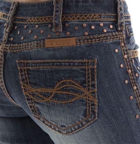 BunkhouseWestern | Saddle Ready III Cowgirl Tuff Jeans