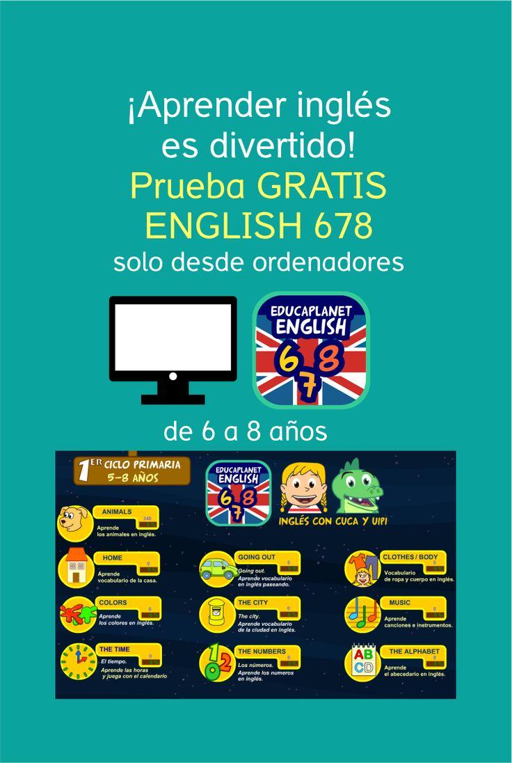 AHORA GRATIS Juegos online para aprender inglés: vocabulario y frases; de los creadores de Pipo #games #english