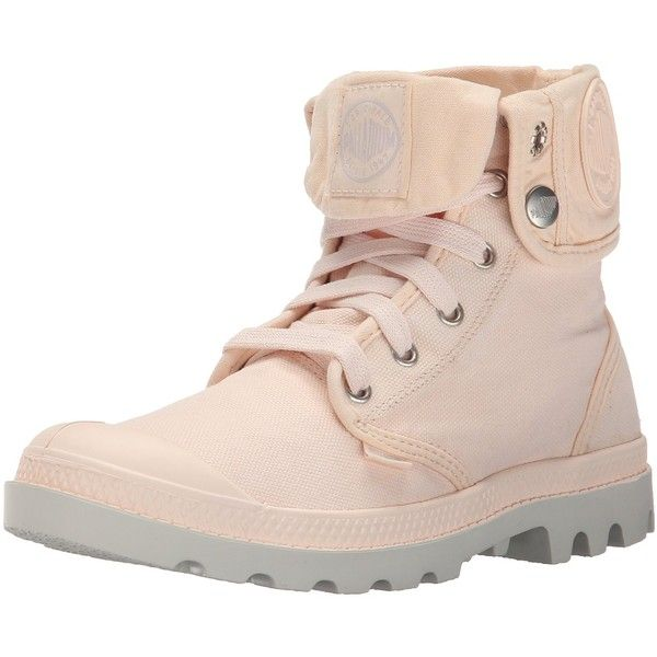 Palladium Women's Baggy Canvas Boot ($30) ❤ liked on Polyvore featuring shoes, boots, palladium footwear, palladium shoes, canvas shoes, canvas footwear and palladium boots