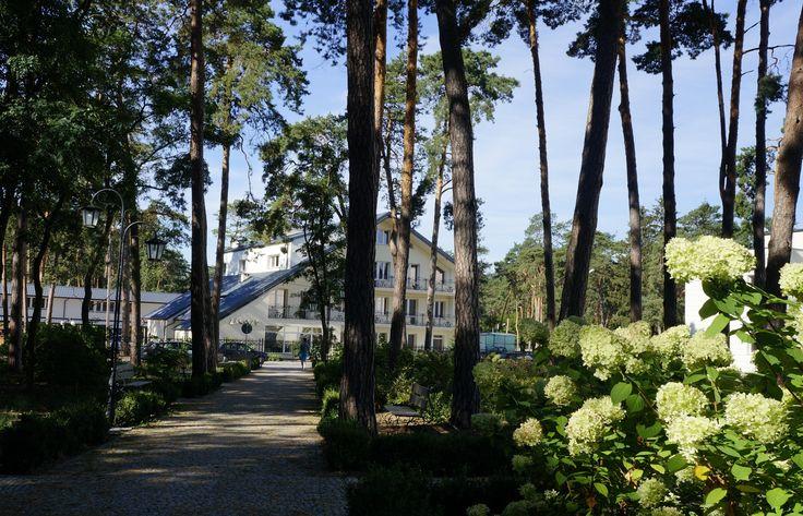 """Wieniec Zdrój - sanatorium """"Zacisze"""""""