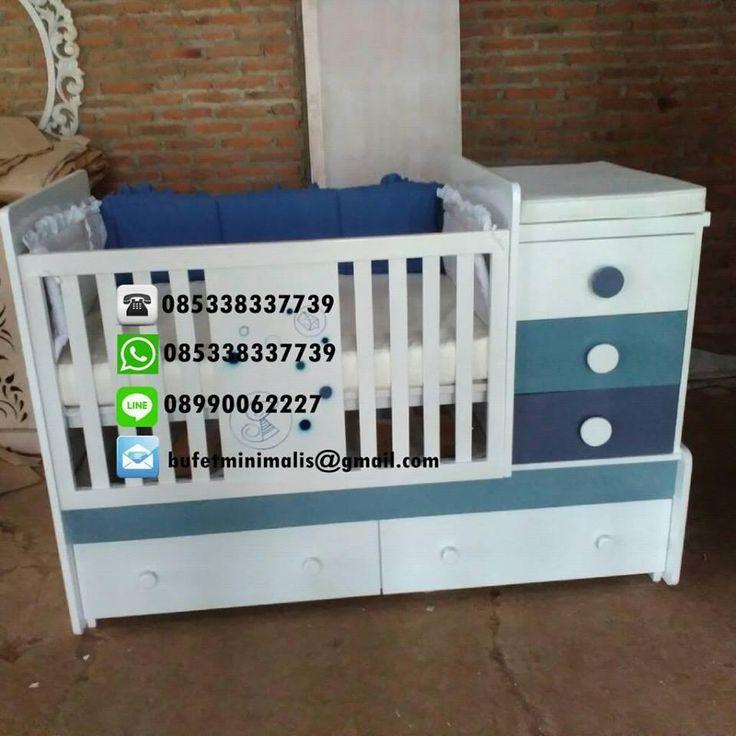 Box Bayi Harga Murah 5 Laci | Tempat Tidur Bayi Minimalis | Box Bayi Dan Baby Tafel | Ranjang Bayi MUrah Terbaru | Kasur Bayi Mewah Berkualitas