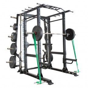 Barbarian Functional Power Cage met halterstang, gewichten en weerstandsbanden