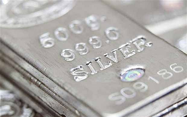 silver | Silver is predicted to increase 500pc in value Photo: BLOOMBERG