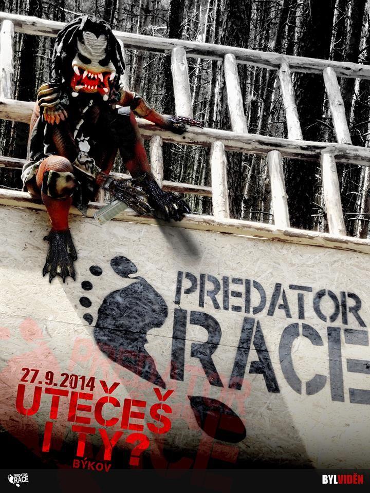 PREDATOR RACE Extrémní překážkový běžecký závod! Ten zážitek ti už nikdo nevezme!  Utečeš i ty?