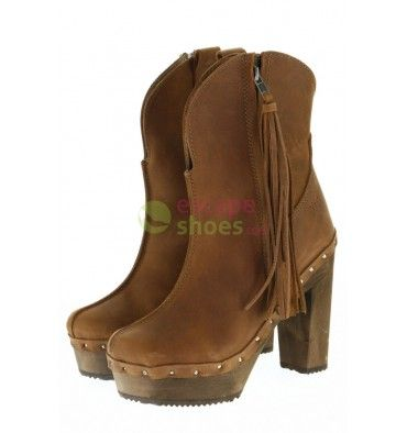 High Ankle Boots XUZ Brown Trinket 25279-CS  Available here: http://www.escapeshoes.com/en/ankleboots/1420-high-ankle-boots-xuz-brown-trinket-25279-cs.html