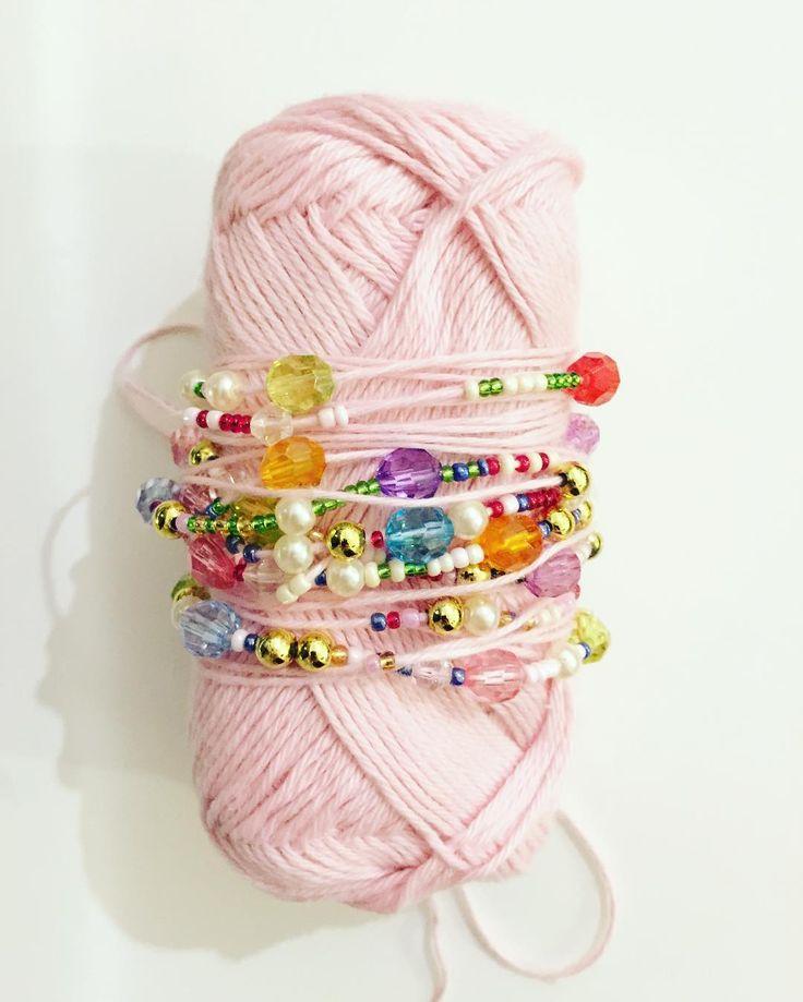 We on Facebook: http://ift.tt/2jRHDjd Beautiful Beaded Jewelry #underbeads by @underbeads Check our #AmazingPhoto WEBSTA: Waaaauw siger jeg bare..  #hækle #hæklerier #hækling #hæklefreak #crochet #crocheting #crochetlove #kreativ #perler #perlehækling #beadcrochet #handmade #håndlavet #håndarbejde #forår