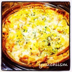 楽天が運営する楽天レシピ。ユーザーさんが投稿した「パンの耳DEキッシュ☆」のレシピページです。パンの耳で簡単にキッシュを作りました^ ^。パンの耳DEキッシュ☆。パンの耳,玉ねぎ,じゃがいも,ハム,冷凍コーン,ピザ用チーズ,乾燥パセリ,牛乳,卵,バター