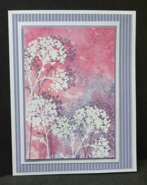 **CC409  White Flowers