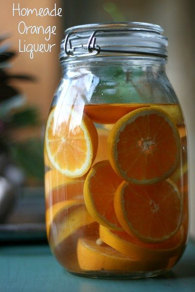 Homemade Orange Liqueur - no need to buy it, when it's this easy and tastes so good!  www.sidewalkshoes.com