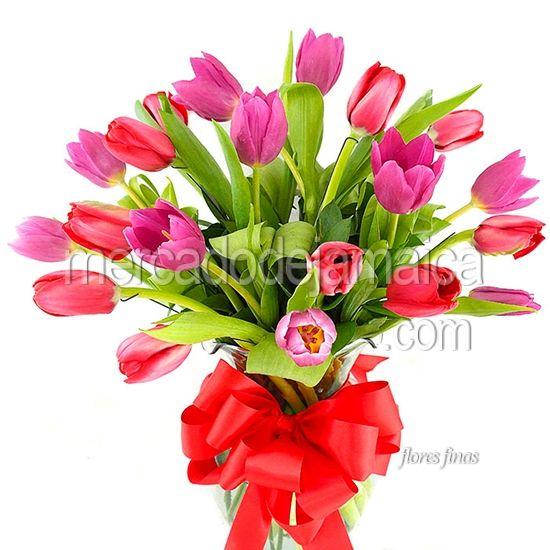 Floreria en el df Tulipanes My Valentine !  Envia Flores
