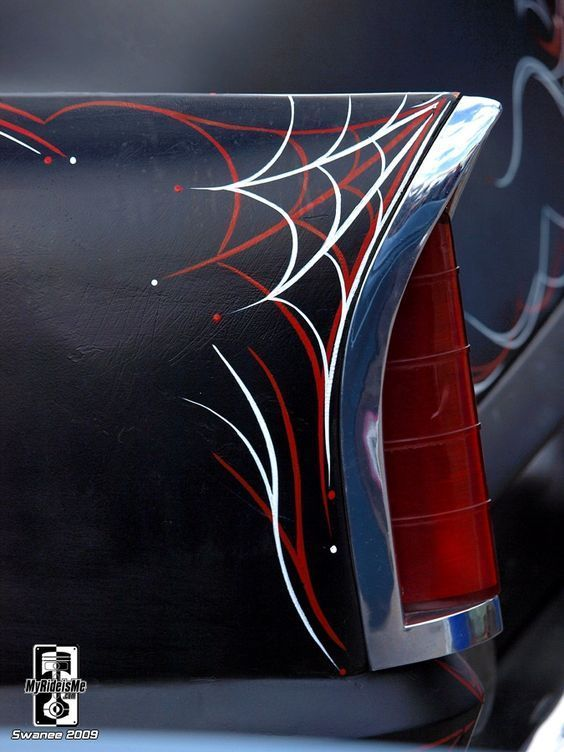 8 Best Car Pinstriping Images On Pinterest Pinstripe Art