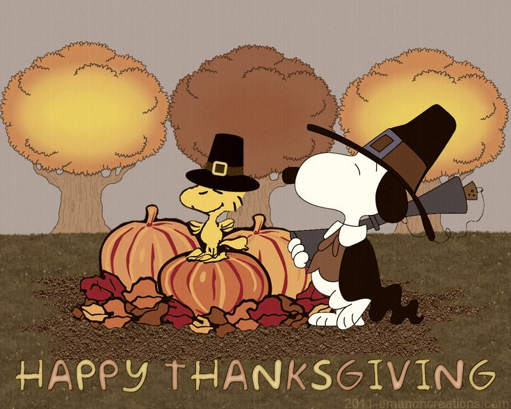 Happy Thanksgiving | Peanuts/Charlie Brown | Pinterest ...