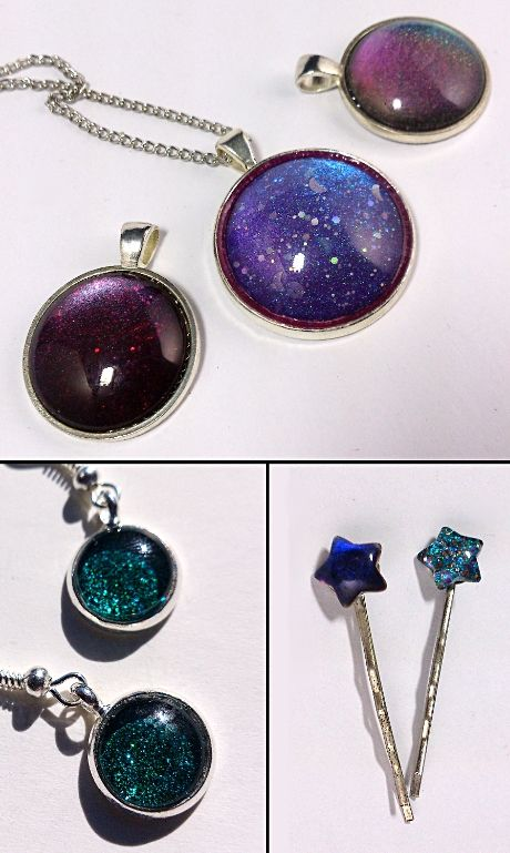Make This: A Pendant Made With Your Favorite Nail Polish