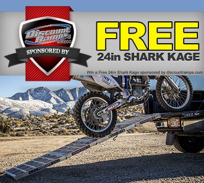Do you want to win a FREE Shark Kage Motorcycle Loading Ramp?