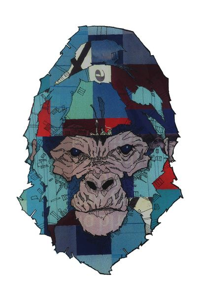 1000 images about gorilla art on pinterest the gorilla for Thin line tattoo artists near me
