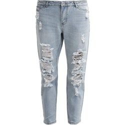 ONLY TONNI  Jeansy Relaxed fit light blue denim