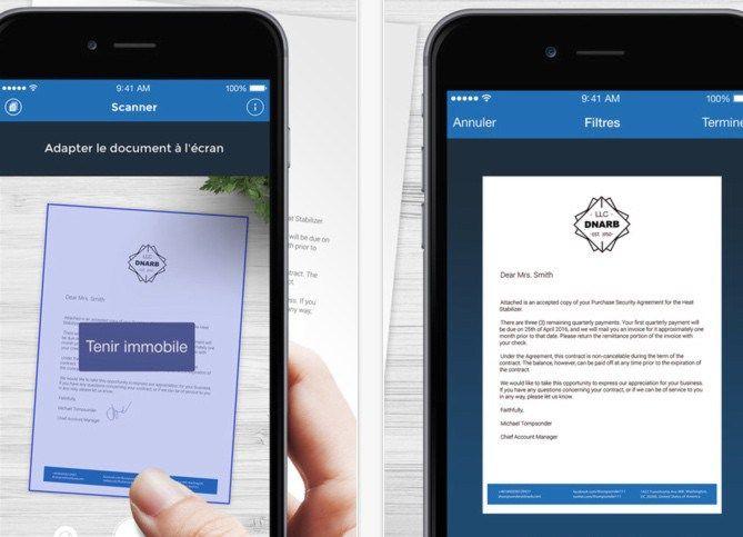 3 applications pour numériser un document avec un smartphone ou une tablette