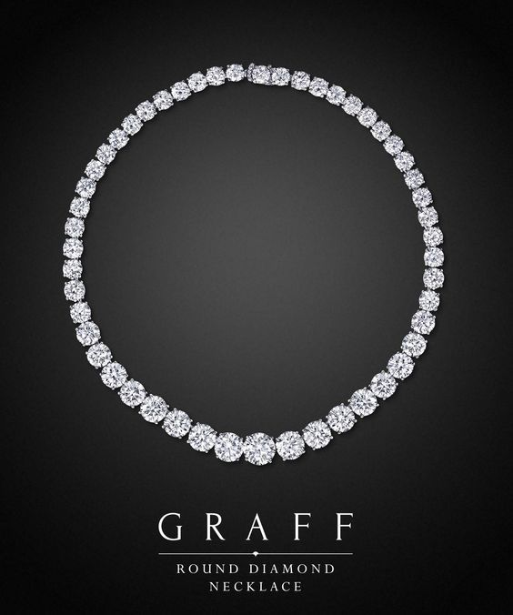 Graff Diamonds: Round Diamond Necklace