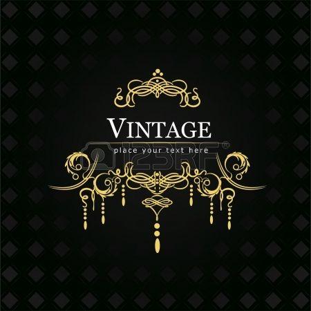 Invitation vintage card  Wedding or Valentine s Day
