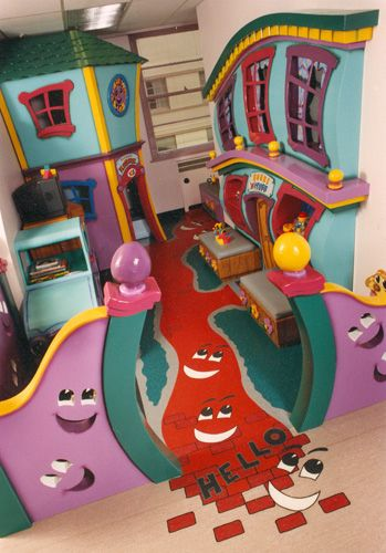 Straight Line Designs: Play/Waiting Areas and Decor  BC Children's Hospital  Vancouver, BC