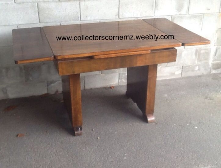 Restored 1960s Art Deco dining table.