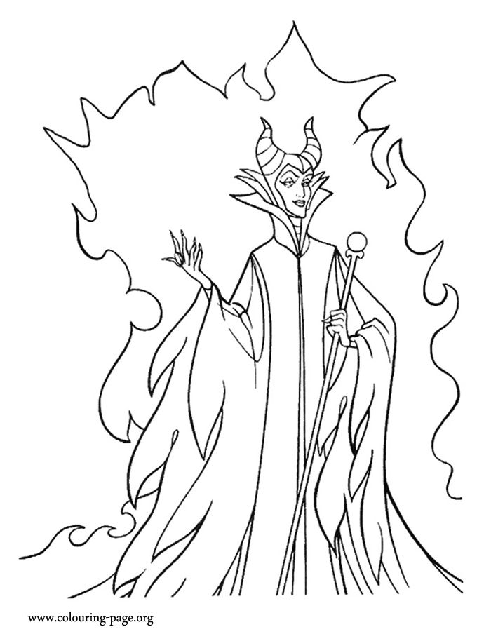 Alice Brans Posted Disney Villains Coloring Pages To Their Wonderful World Of Postboard Via The Juxtapost Bookmarklet