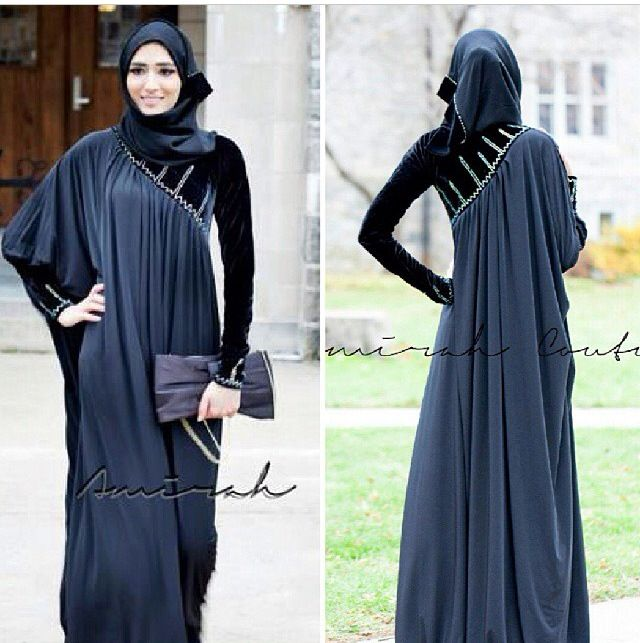 Abayas rule masha allaha is my favorite color
