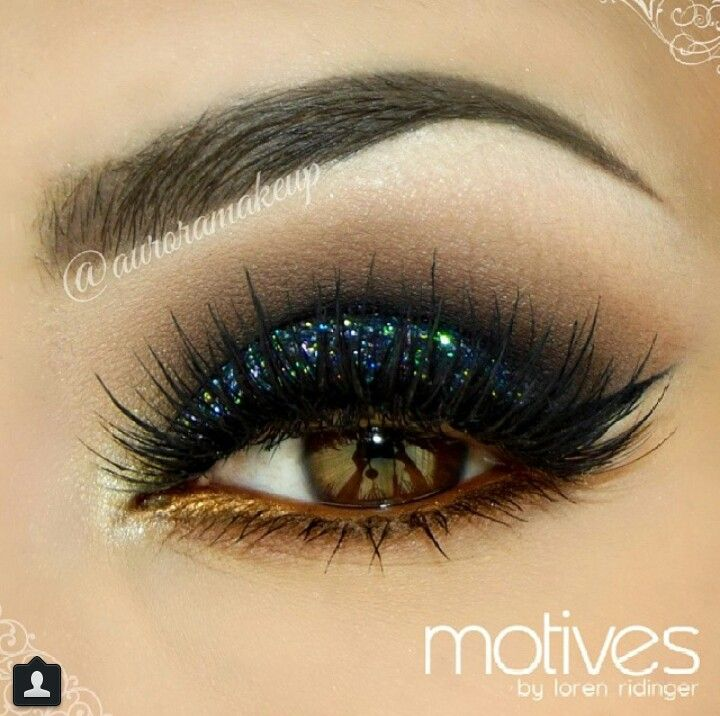 The 25+ best Motives makeup ideas on Pinterest | Brown smokey eye ...