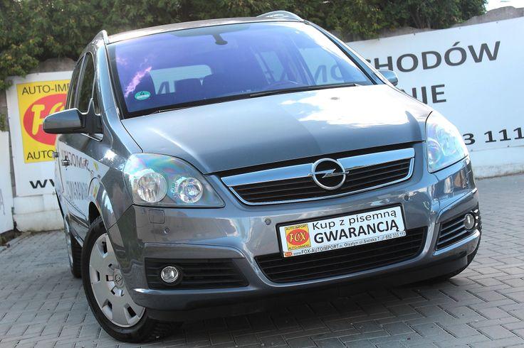 Opel Zafira 1.9 CDTI 120KM