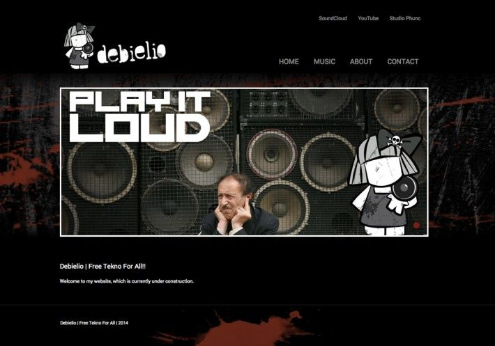 "Website ""Debielio"" www.debielio.nl 