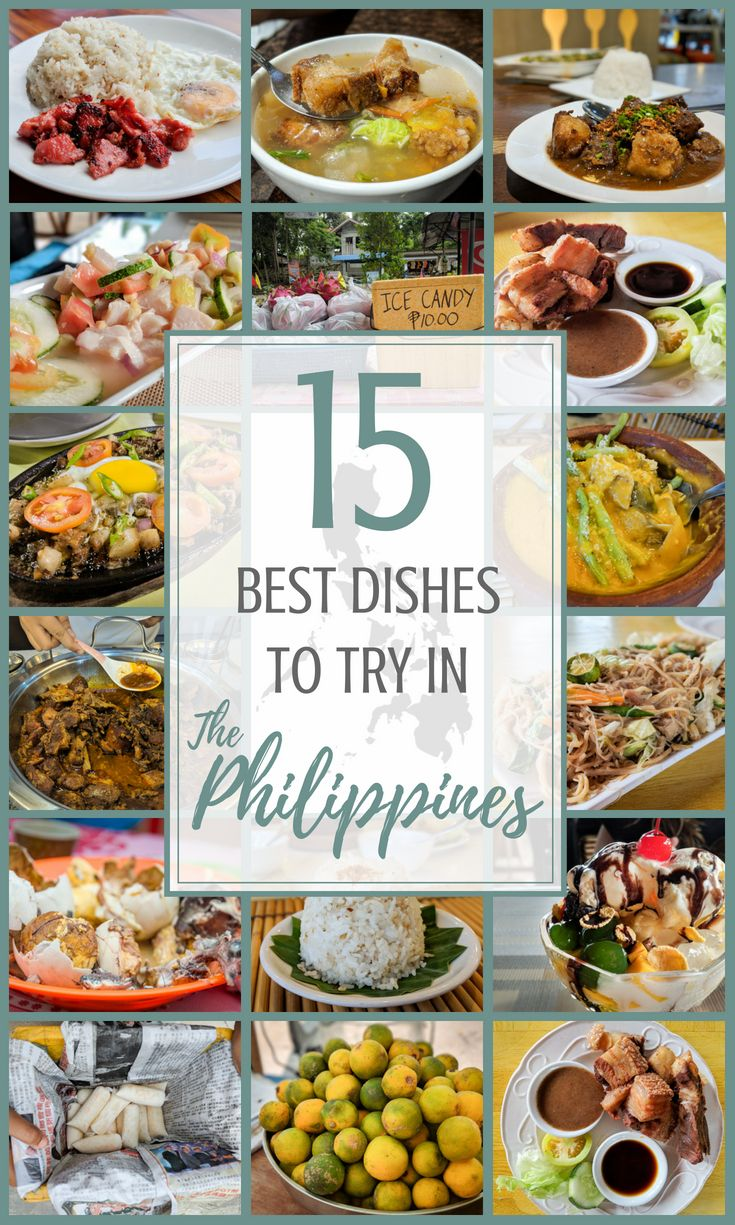 Famous Filipino Food 15 Must Eat Dishes In The Philippines Filipino Recipes Food Eat