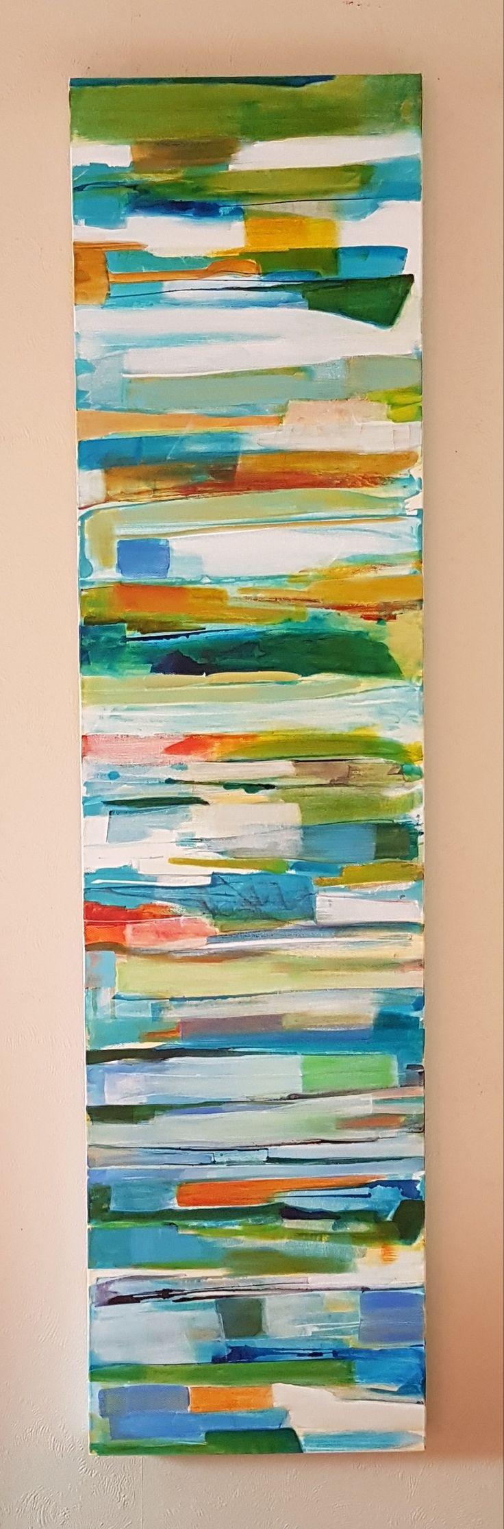 Strata painting