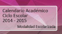 Calendario Academico Escolarizado