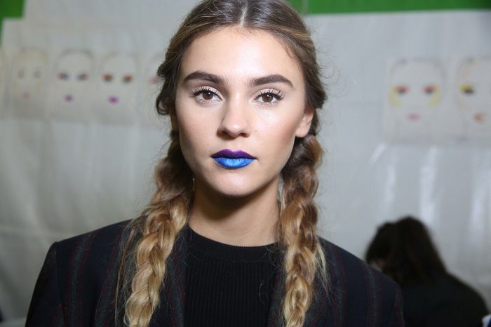 Best of Beauty From SS 2018 PWF L'Oréal two toned lips
